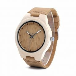 champaca – white maple wooden watch