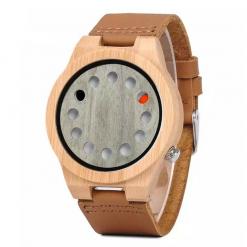 green acacia – bamboo wood watch