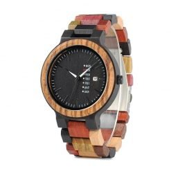Saffron – Sandalwood Ebony Wooden Watch